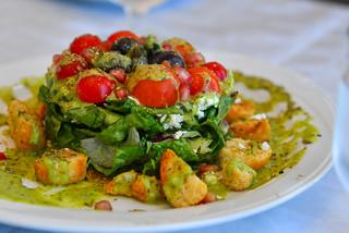 Greek salad at local restaurant | by phuong.sg@gmail.com