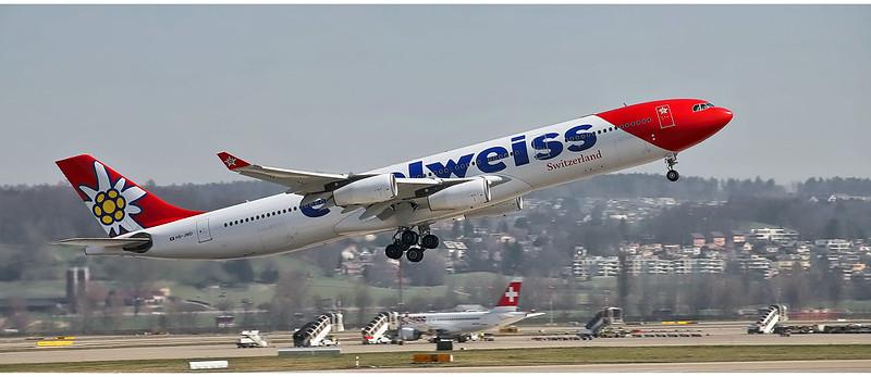 Edelweiss Air HB - JMD