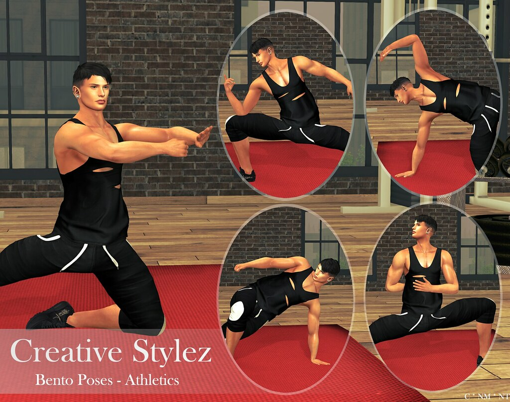 Creative Stylez – Bento Poses – Athletics –