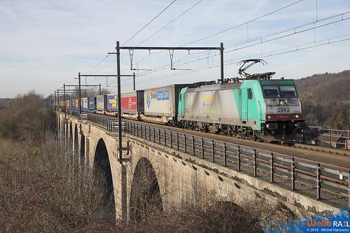 2843 LNS . E 43673 . St Martens  Voeren  . Fouron St Martin . 26.12.18.