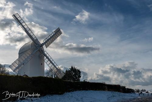 winter snow tamron2470 southdownsway southdowns d810 jackandjill jackjill windmills