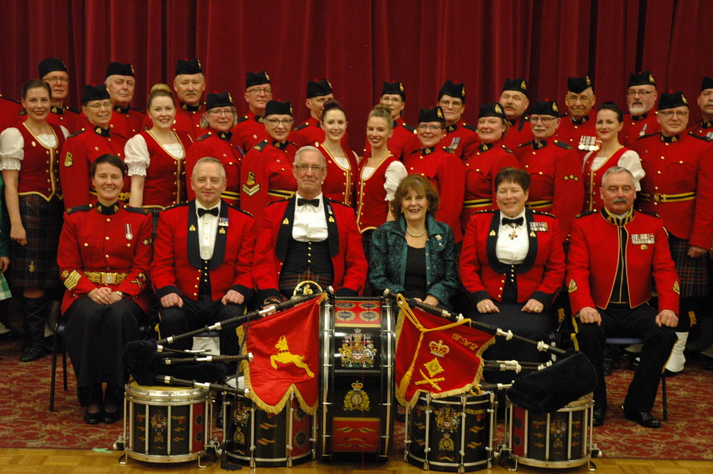 RCMP Pipes and Drums of Alberta 2019 Burns Dinner | Lieutenant