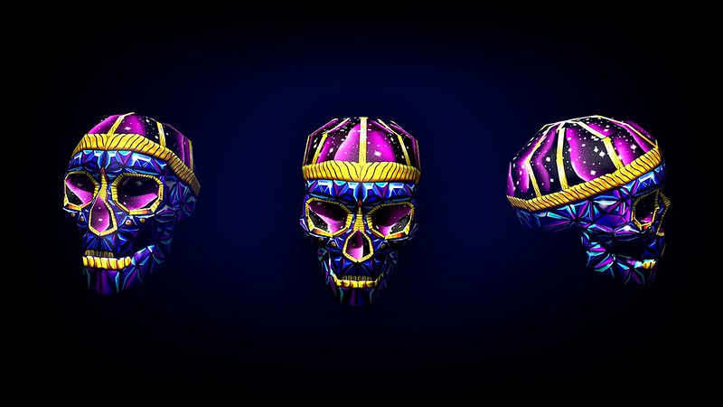 Обои черепа, арт, яркий, 3d картинки на рабочий стол, фото скачать бесплатно