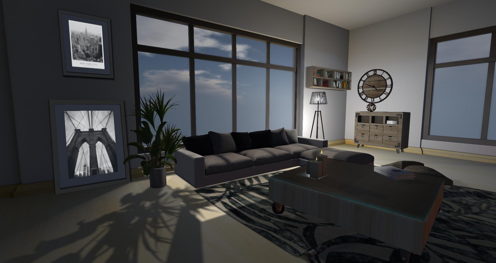 New York Living Room 5