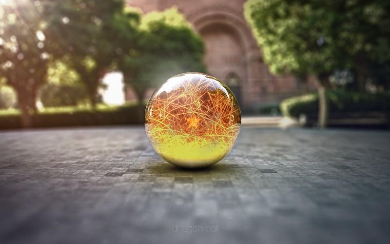 Обои шар, стекло, поверхность, макро картинки на рабочий стол, фото скачать бесплатно