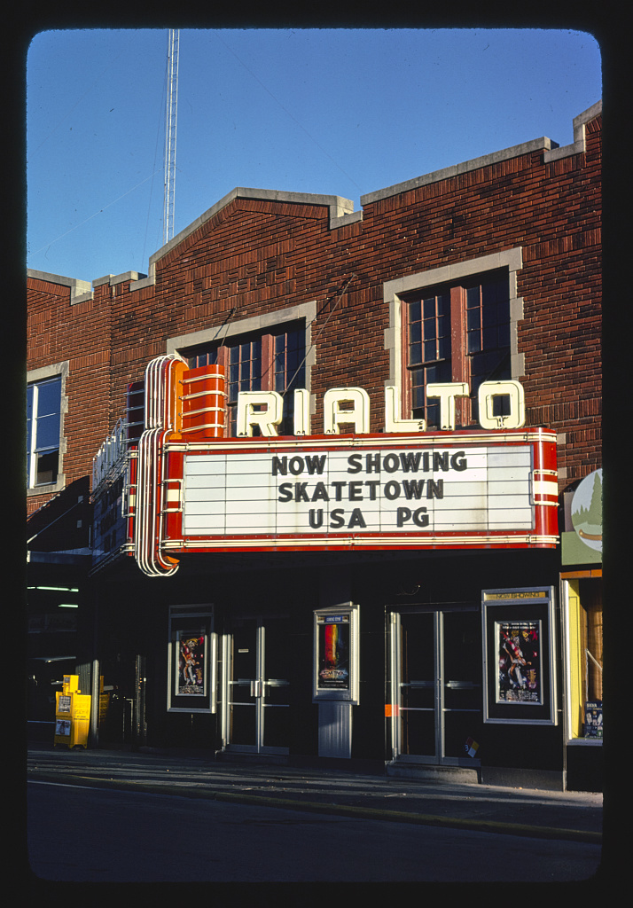 Rialto Theater, Broadway Street, Cape Girardeau, Missouri (LOC)