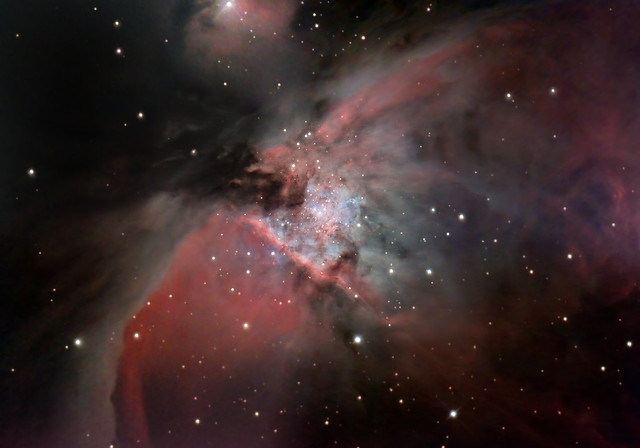 M42, Trapezium and Proplyds