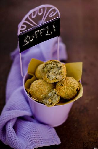 Supplì con broccoli e mozzarella | by Elisakitty's Kitchen
