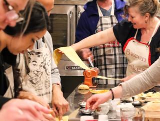 Pasta Workshop At Dickie's Cooking School | by Suzie the Foodie www.suziethefoodie.com