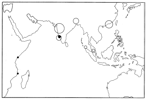 Class 10 History Map Work Chapter 4 The Making of Global World Q3
