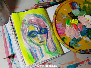iHanna's first painting of March is a portrait | by iHanna