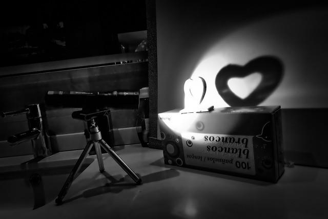 Metodo casero para fotografiar sombras