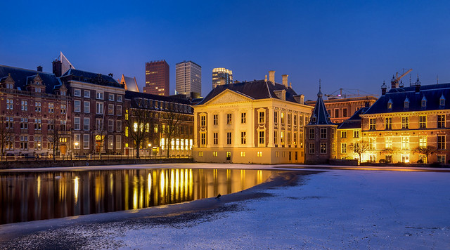 Snow in The Hague