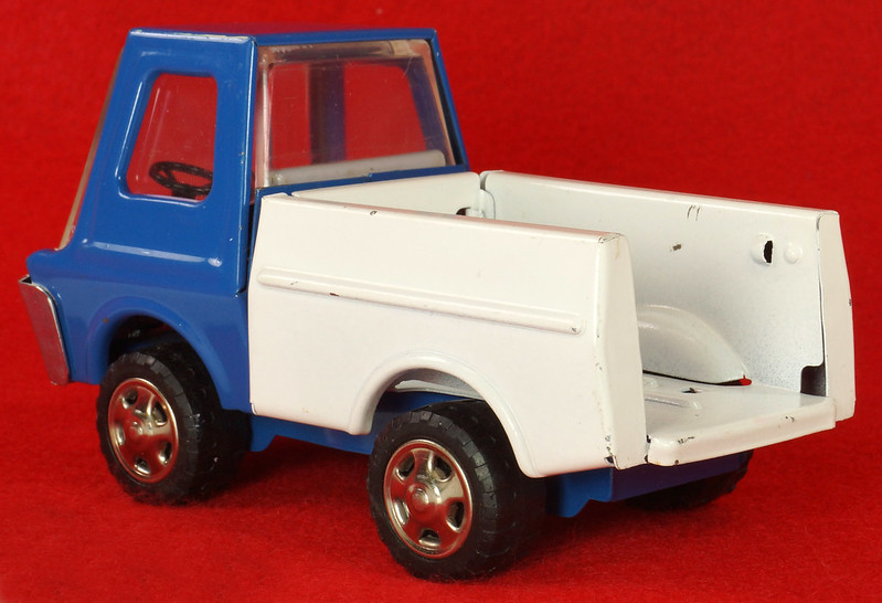 RD26760 Very Rare Fleet Truck CK Kuramochi & Co. , LTD. Japan Blue Cab White Bed DSC09032