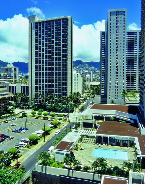Honolulu Hochhäuser auf Hawaii