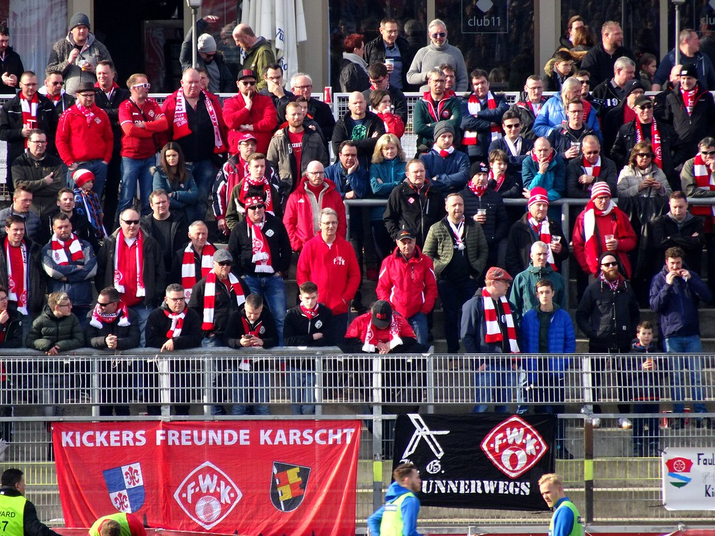 Kickers Wurzburg 0 2 Hansa Rostock Wurzburg Fans Groundhopping Merseburg Flickr