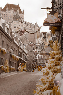 Quebec City - Infrared | by baldheretic