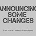 Announcing some Changes