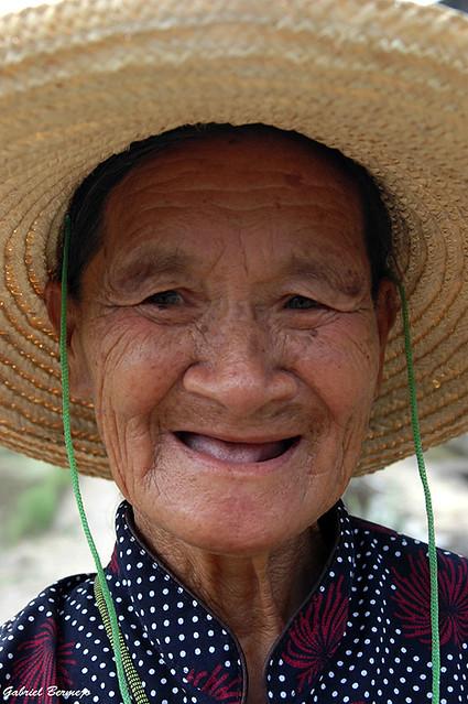 La sonrisa de una abuela - Yangshuo