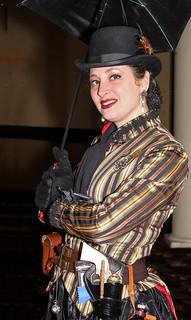 Pretty Steampunk Woman