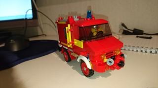 Unimog Mercedes benz Fire Truck MOC. | by jesper.rydhog
