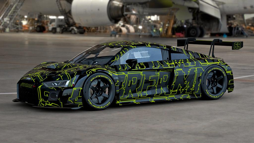 Audi R8 Gt3 Jp Performance Gran Turismo Sport Nicolas