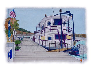 """The Sternwheeler"" - by Kelly Coalier 