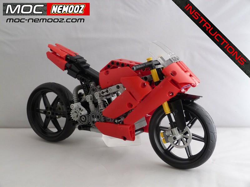 LEGO MOC-23757 DUCATI Panigale V4 (Technic > Model 2019 ...