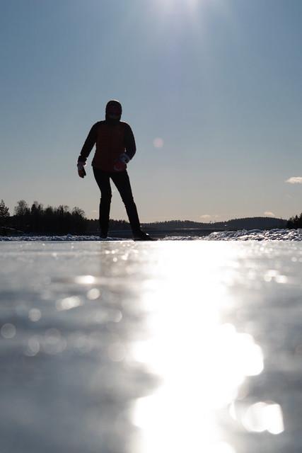 luistelu Kallavesi