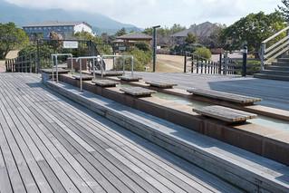 桜島溶岩なぎさ公園&足湯 | by ひろやん