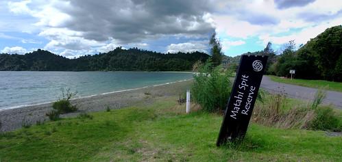 matahi spit reserve rotoma bayofplenty newzealand lakerotoma stitched