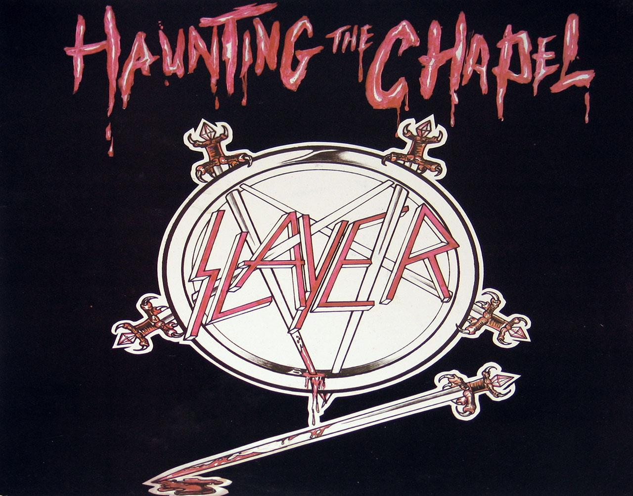 "SLAYER Haunting of the Chapel USA 12"" vinyl lp"