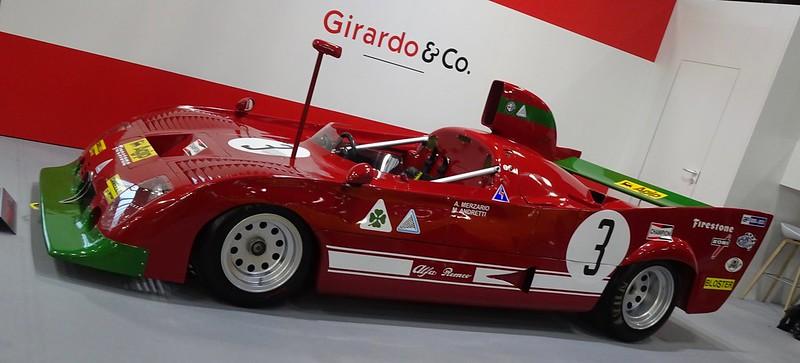 Alfa Romeo 33 Ex Mario Andretti / Arturo Merzari 33220238538_ae4d64f6cd_c