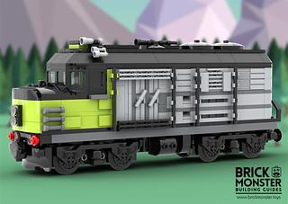 Yvette Train Engine | by BrickMonster