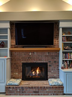 Kozy Heat Chaska 34 with an Iron series front. | by Thompson's Hearth & Home