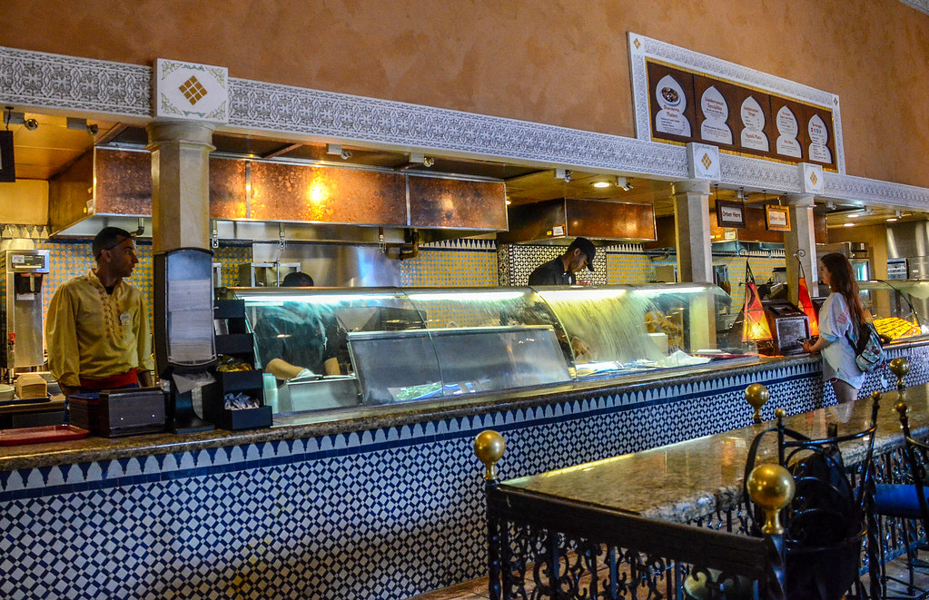 Tangierine Cafe counter Epcot
