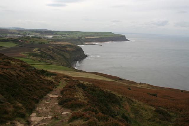 The coast east of Skinningrove