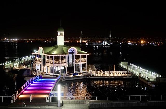 Yokohama night view - Chapel