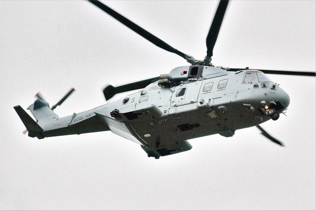 ZJ134  (S) : AgustaWestland EH101 Merlin HC4  : RN.