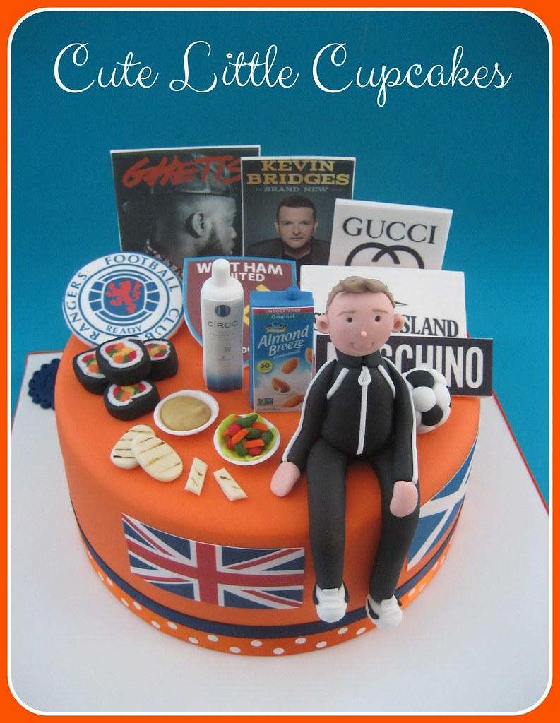 Cool Favouritethings 21St Birthday Cake Heidi Stone Flickr Funny Birthday Cards Online Alyptdamsfinfo