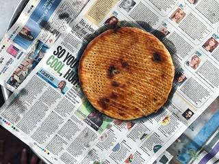 City Food - Chacha's Sheermal Rotis, Around Town   by Mayank Austen Soofi