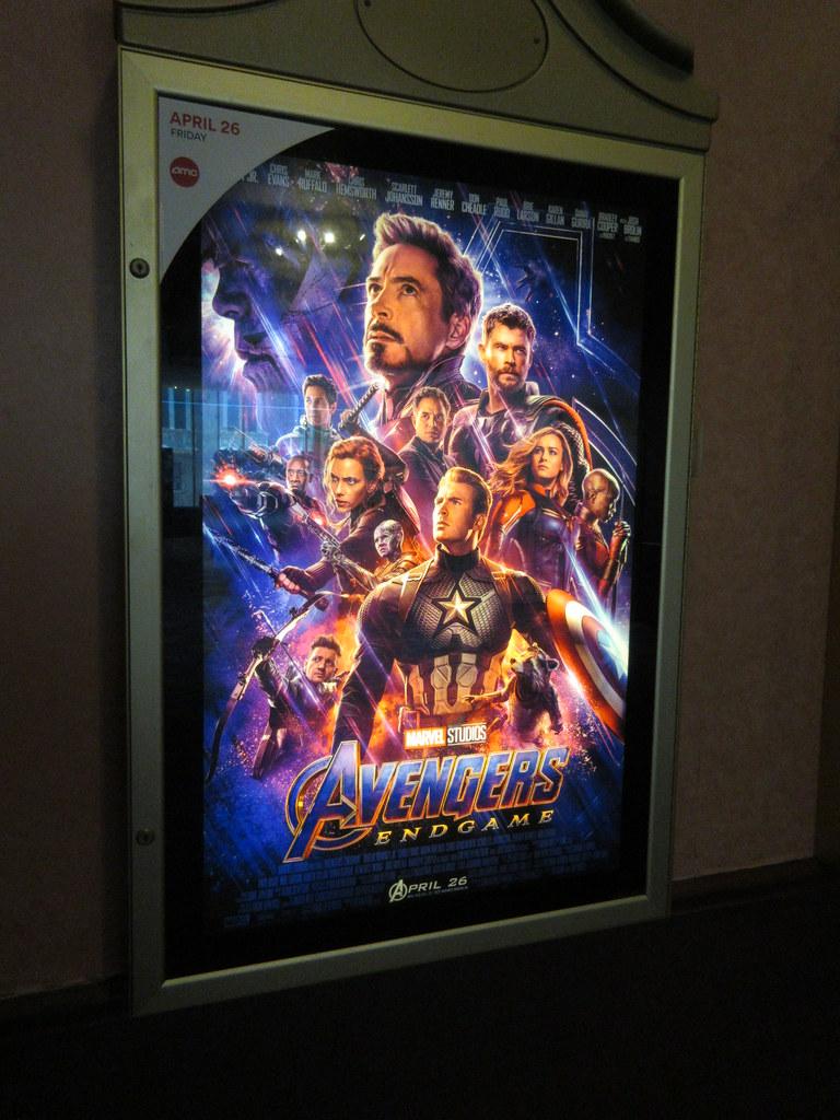 Avengers Endgame Theater Lobby Poster Nyc 4794 Avengers En Flickr