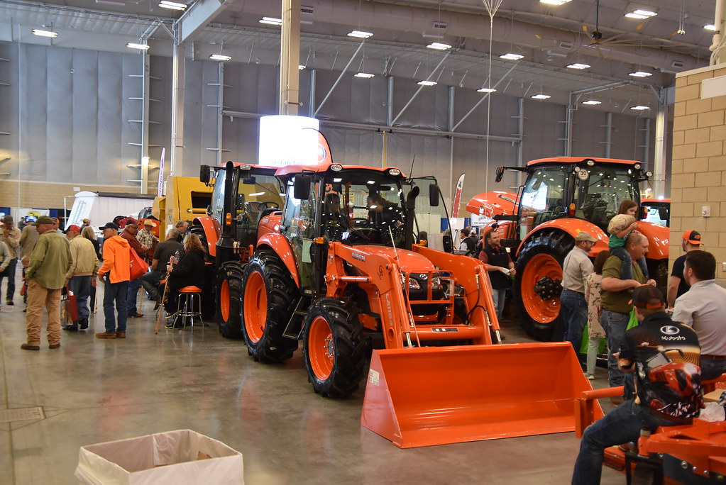 Okc Farm Show Exhibits Include All Of The Latest In Agricu Flickr