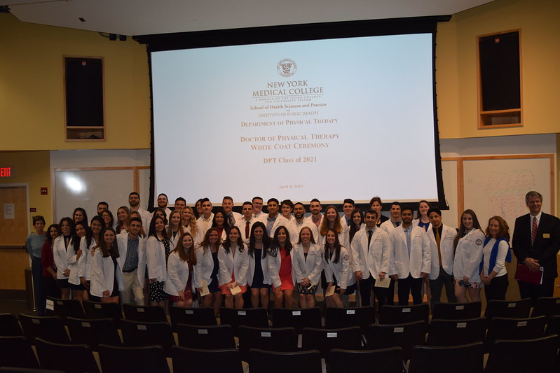 SHSP D.P.T. Class of 2021 White Coat Ceremony
