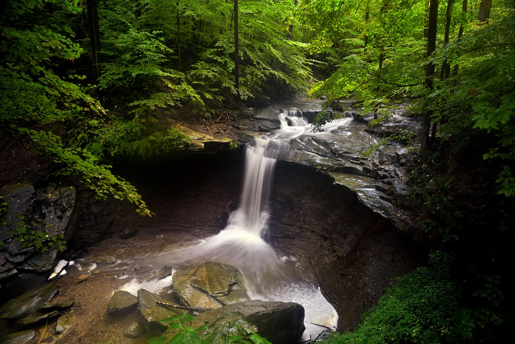 I Saw Water Fall from the Sky as Rain One Day in Ohio (Cuyahoga Valley National Park)