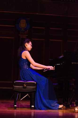 16-year-old pianist Taylor Wang   by From the Top, Inc.