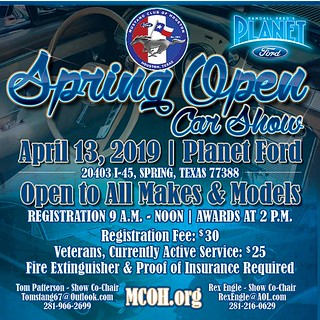 April 13 Spring Open Car Show Planet Ford Spring   by teejaze