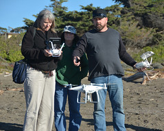 Jay shows drone