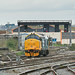 37418 0Z37 1200 Canton Sidings to Canton TfW driver training at Cardiff 05.04.2019 by The Cwmbran Creature.