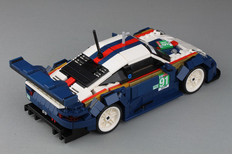 Porsche #91 from Le Mans 2018 - now with building instructions